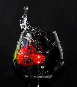 eaux détox fraise