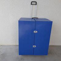 meuble armoire valise en cartons