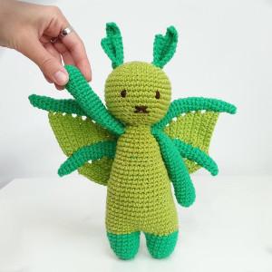 doudou dragon pour enfants